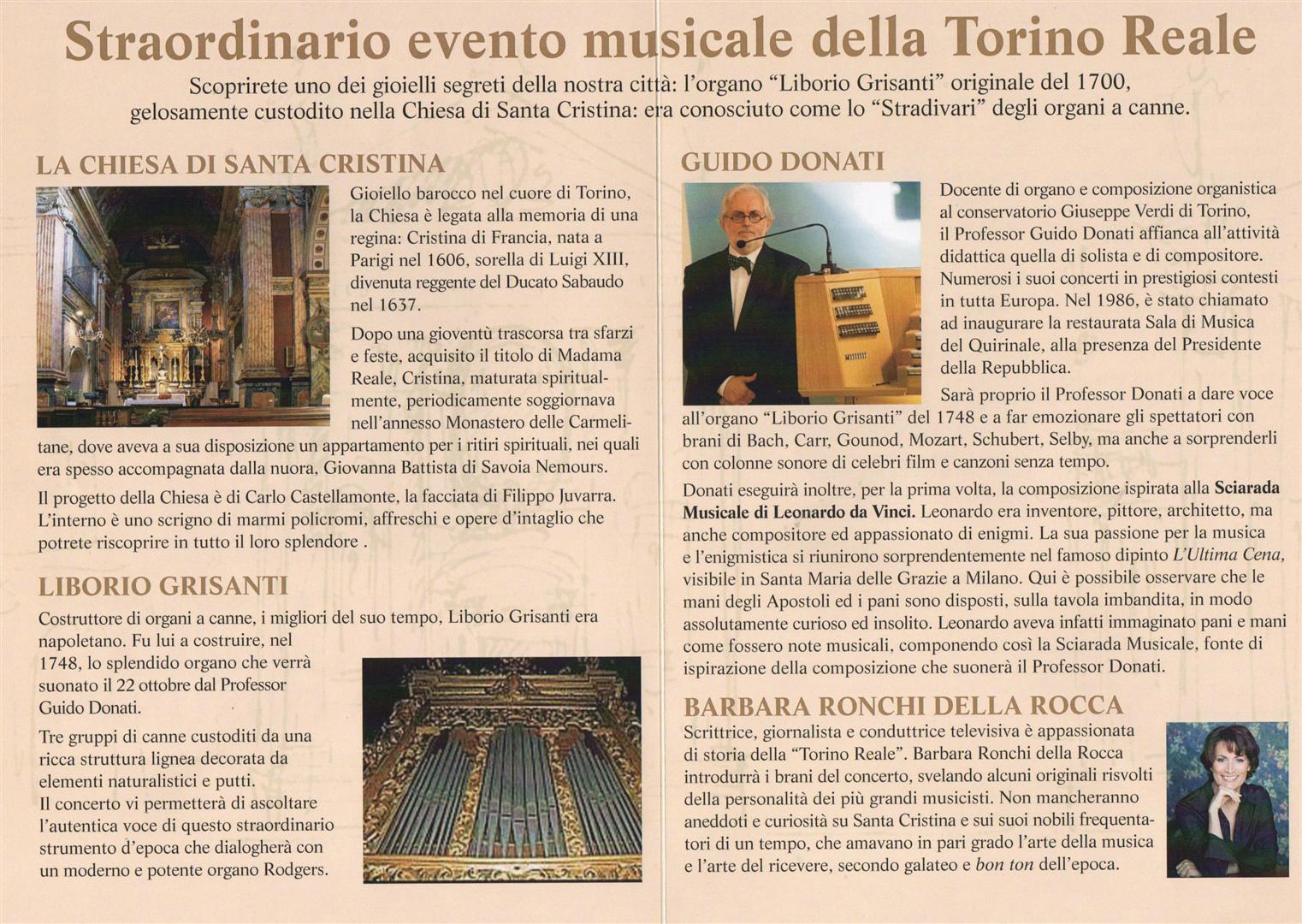 Concerto 22 ottobre 2014