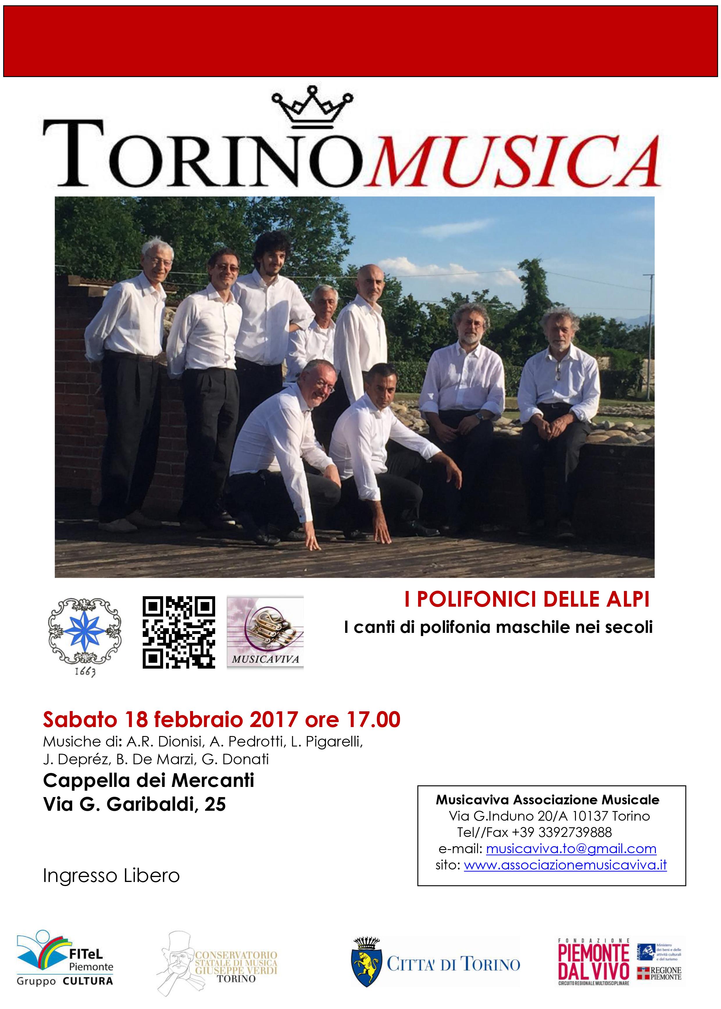Programma di sala Concerto del 18-2-2017