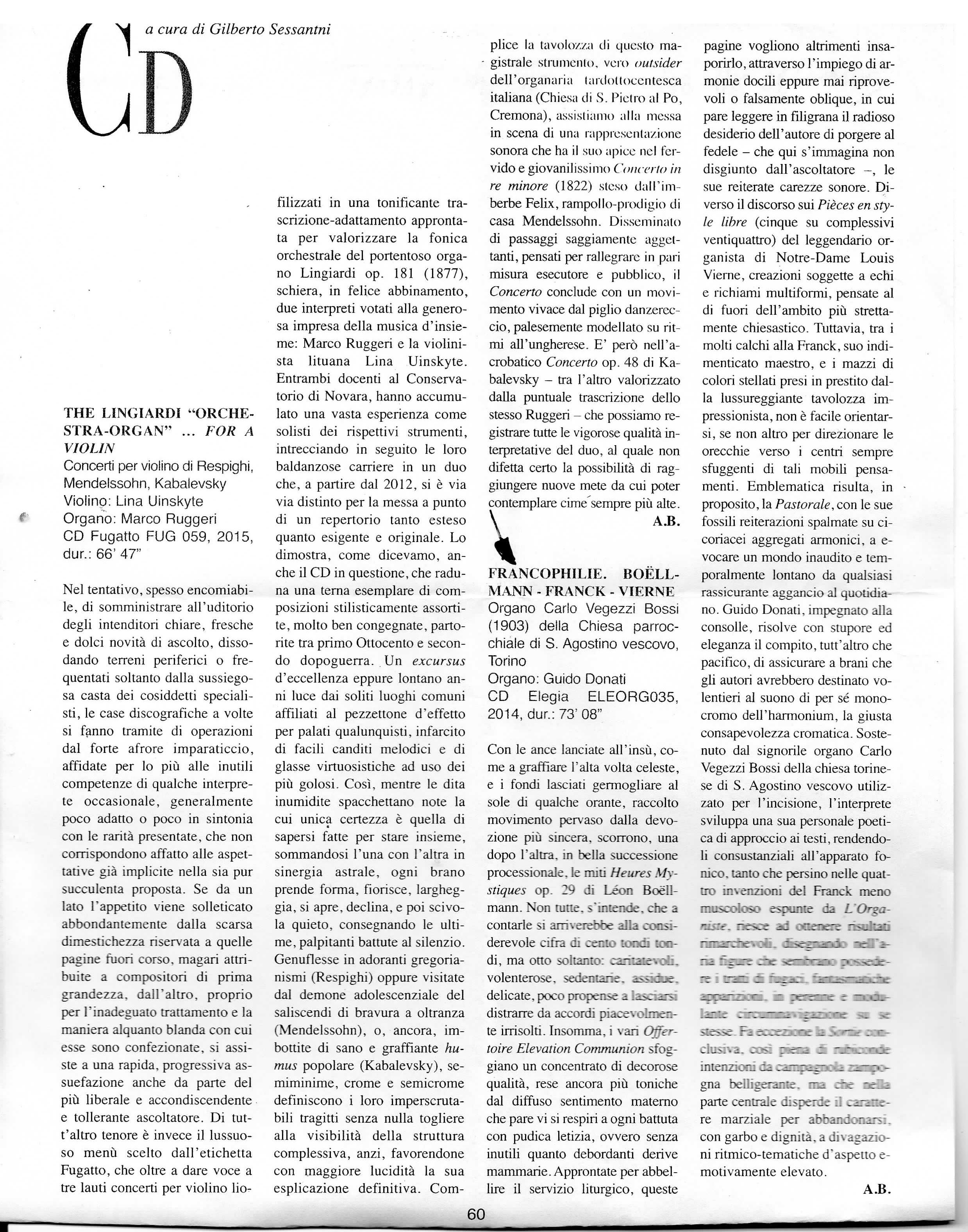 articolo recensione_Arte Organaria Organistica_Guido Donati